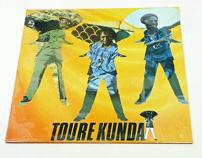 "sealed OVP Orig. 80s LP - TOURE KUNDA "" Same "" 1983 funky AFRO Reggae CELLULOID"