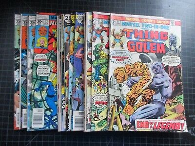 Marvel Two In One #11,13-16,18,23,30-33,39-41 Thor Black Panther