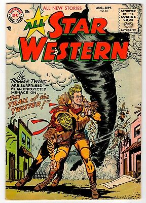 ALL STAR WESTERN #84 - DC 1955 VG+ Vintage Comic