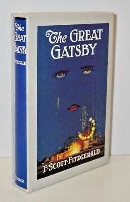 """The Great Gatsby"" By F. Scott Fitzgerald -The First Edition Library With Sleeve"