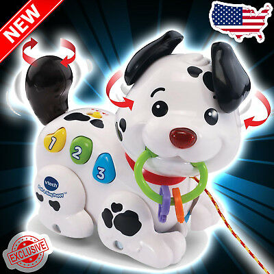 VTech Pull and Sing Puppy Kids Gift New Holiday Toy Christmas New Year White Dog