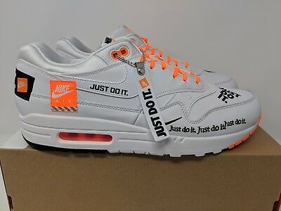 brand new d7442 4e90d Clothing, Shoes   Accessories Nike Air Max 1 SE LX JUST DO IT JDI White  Total Orange AO1021-100 ...