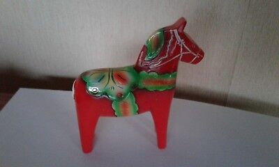 RARE Swedish Dala Horse Folk Art