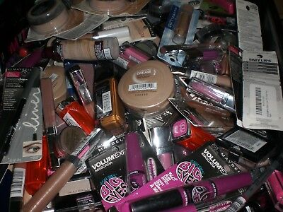 Maybelline brand makeup cosmetics mixed assorted wholesale resale Lot of 25 Pcs