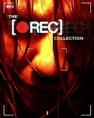 THE REC COLLECTION New Sealed Blu-ray 1 2 3 4