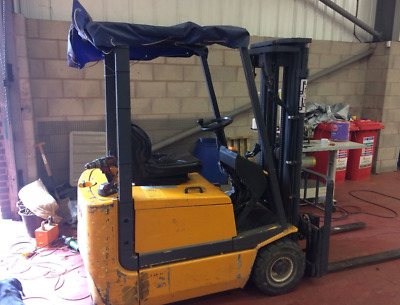 Forklift Jungheinrich For Sale Used 1999 1500kg Batteries Need Changing Relisted