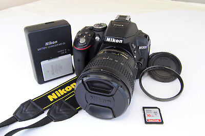 Nikon D5300 24.2MP DSLR Digital Camera Kit w/AF-S 18-70mm f/3.5-5.6G ED Lens