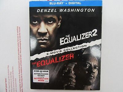 The equalizer 2 movie collection Blu-Ray plus digital + SLIPCOVER NEW SEALED!