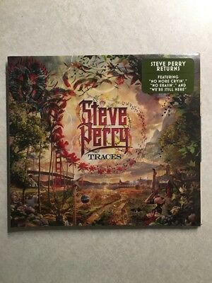 """Steve Perry """"TRACES"""" CD (New 2018 Release)(Mint)"""