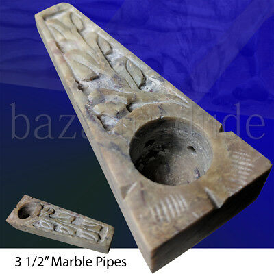 "Marble Stone Pipe | 3.5"" Inch 