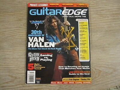 Guitar Edge Magazine March / April 2008 - Eddie Van Halen -30th Anniversary Edit