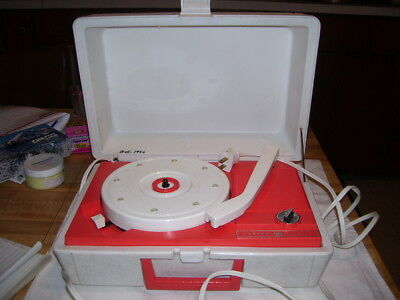 General Electric Vintage Portable Record Player