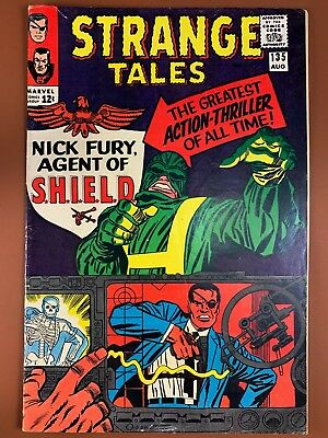 Strange Tales #135 (1965 Marvel) 1st appearance of Hydra and SHIELD Silver Age