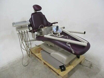 Adec 8000 Dental Exam Patient Chair w/ Light & Operatory Delivery System