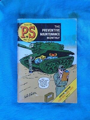 US Army P S Magazine, The Preventive Maintenance Monthly, 1966