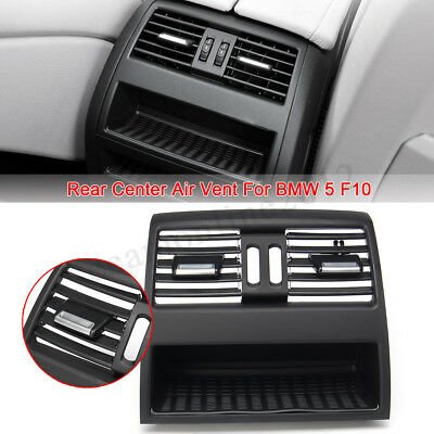 Rear Center Console Fresh Air Outlet Vent Grille Grill Cover For BMW 5 F10