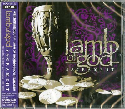 Lamb Of God-Sacrament-Japan Cd F30