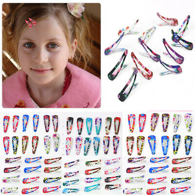 Lot 120pcs/Set Hair Clips Snaps Hairpin Girls Baby Kids Hair Accessories Gift