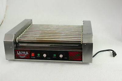 4094 Great Northern Popcorn Commercial 30 Hot Dog 11 Roller Grilling Machine