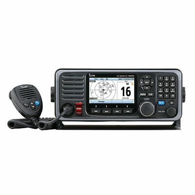 L@@K Icom M605 Fixed Mount 25W VHF w/Color Display & Rear Mic Connector  M605 11