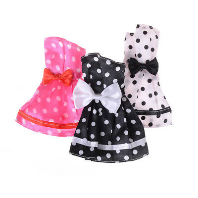 Beautiful Handmade Fashion Clothes Dress For  Doll Cute Decor Lovely