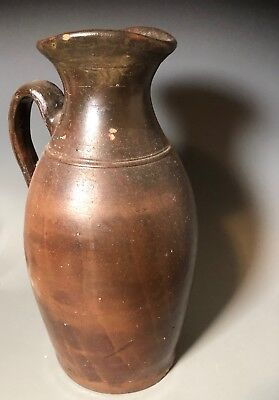 Old Southern Folk Art Pottery Middle Tennessee Stoneware syrup crock jug