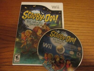 Scooby-Doo and the Spooky Swamp (Nintendo Wii, 2010) Case & Disc Free Shipping