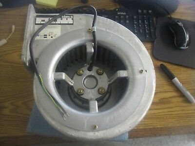 ebm Model: D4E160-AA01-08 Centrifugal Blower. Unused Old Stock. No Box <