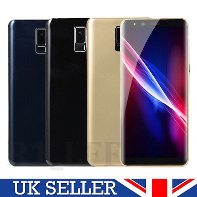 """5.7"""" S9 Big Screen Inch Android 6.0 LTE Smartphone Dual SIM Mobile Phone GPS"""