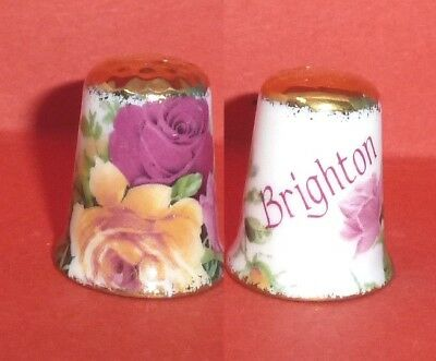 BRIGHTON Thimble Flowered Roses Gold Trims by Imperial Staffordshire Potteries
