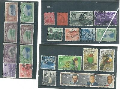 Trinidad Tobago  Mm & Used Stamp Collection
