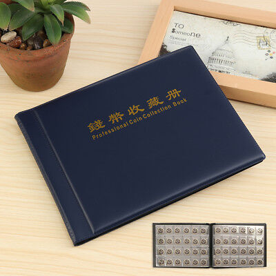 Collect Money Penny Pockets 240 Holders Collection Coin Album Book 10 Pages