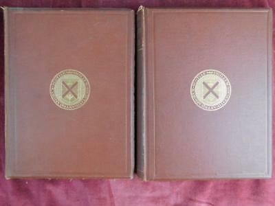 STUART: PRIORY of ISLE OF MAY & MONASTERY of KINLOSS/SCOTLAND/2 BOOKS/ RARE 1868