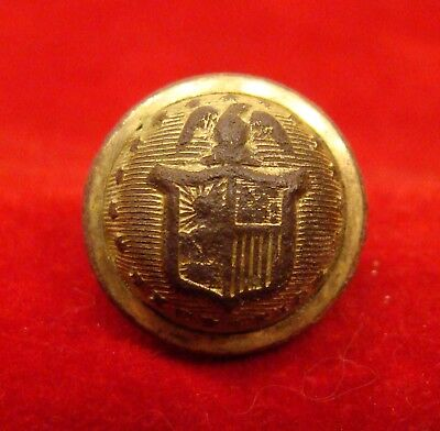 New York Militia Cuff Button Dug Near Richmond Va. Civil War.