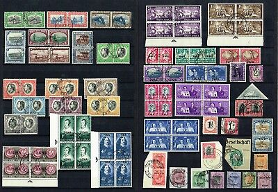 South West Africa / Swa - Selection Of Good/fine Used Stamps (2 Scans)