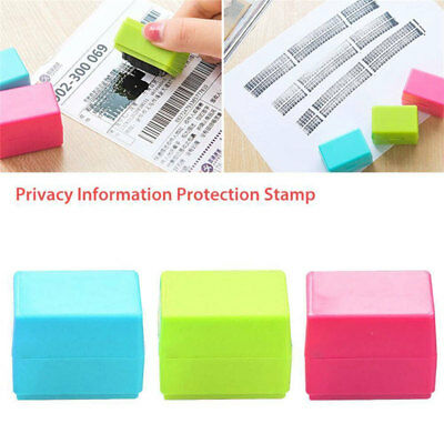 Protect ID Stamp Identity Theft Protection Document Guard Ink Stamps Roller