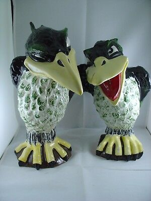 Lorna Bailey Jim Jackdaw & Ray Rook Pair Of Grotesque Birds 1 Of 1