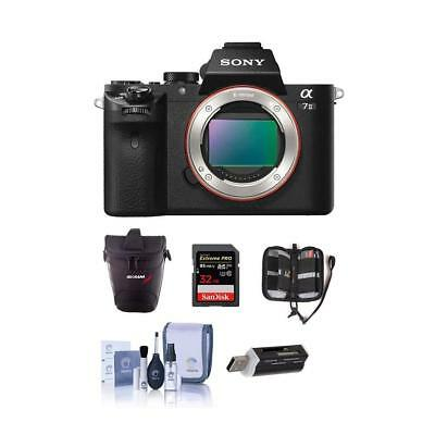 Sony Alpha a7II Mirrorless Body with Free Accessories #ILCE7M2/B A
