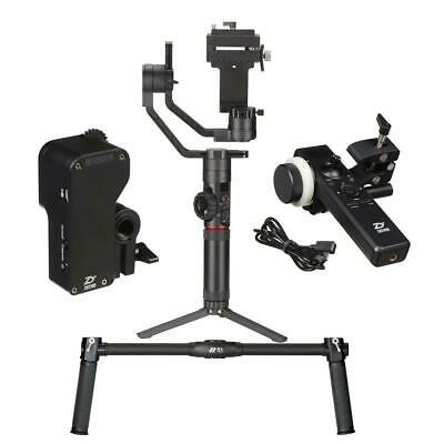 Zhiyun Crane 2 Pro 3-Axis DSLR Camera Gimbal Stabilizer With Dual Handle Bundle