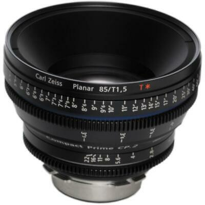 Zeiss CP.2 85mm/T1.5 Super Speed T* (Feet) Lens with Canon EF EOS Mount #1957559