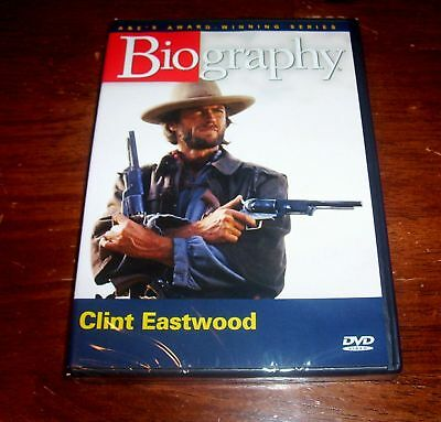 BIOGRAPHY Clint Eastwood A&E Hollywood Icon Actor Dirty Harry Korean War DVD NEW