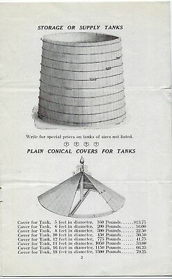 Circular Water Tanks and Steel Towers Economy Silo & Mfg Co Catalogue