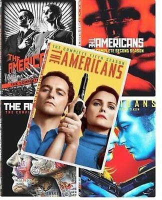 The Americans Complete Seasons 1-6 DVD Bundle 5 new