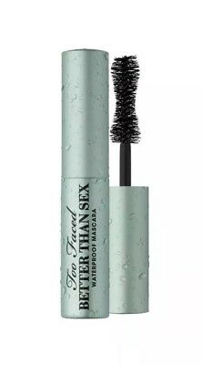 Too Faced Better Than Sex Waterproof Mascara 0.17 oz Travel Size New