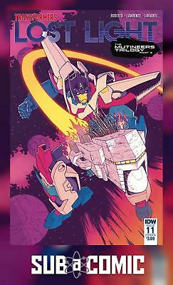 TRANSFORMERS LOST LIGHT #11 COVER B ROCHE (IDW 2017 1st Print) COMIC