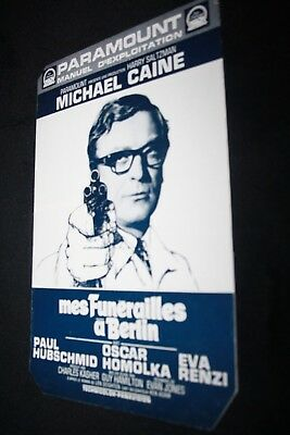 SYNOPSIS film * MES FUNÉRAILLES A BERLIN 1966 / MICHAEL CAINE