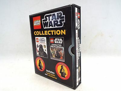 LEGO STAR WARS Collection Box Set 2X Books & 2X Minifigures - C57