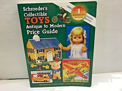 Schroeder's Antique TOYS Price Guide Collector Book Reference Identification