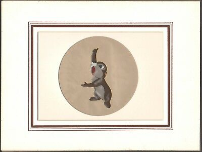 Chip and Dale 1955 Disney Production Cell (trimmed) from John Basmajian Estate
