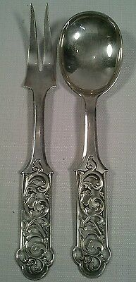Antique Continental European 830 Silver Serving Items 4.0 Troy Ounces